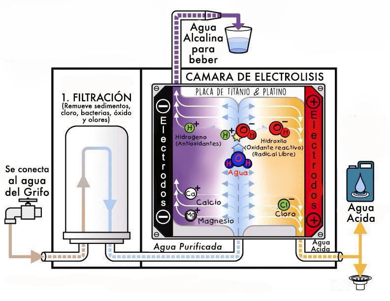 Como funciona un ionizador de agua kangenmexico - Como funciona grifo termostatico ...